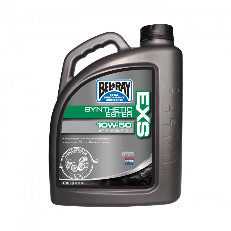 Motorový olej EXS FULL SYNTHETIC ESTER 4T 10W-50 4 l